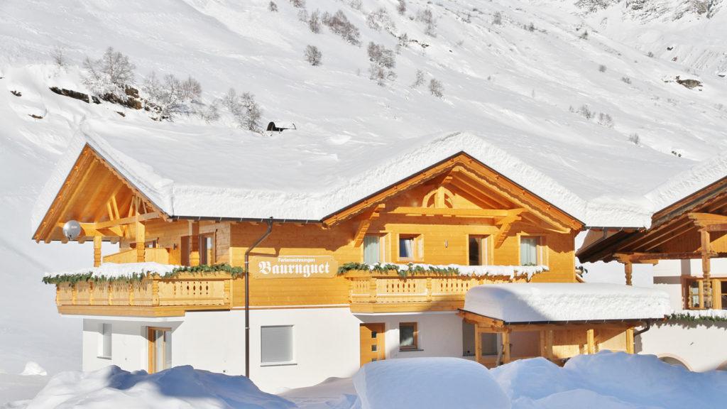 Winterurlaub Pfelders Südtirol