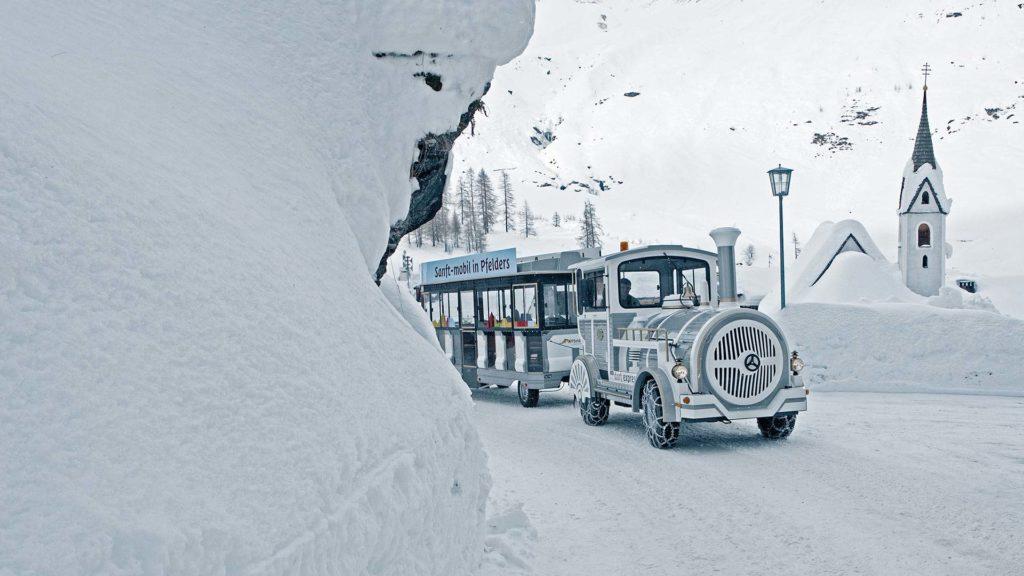 Winterurlaub Passeietal Winterzug